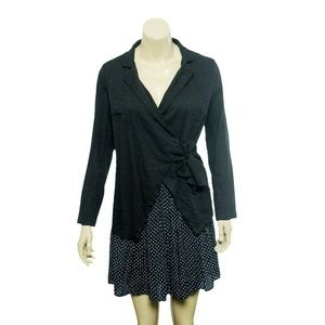 9900 Free People Wrap Tie Knot Jacket Tunic Top S